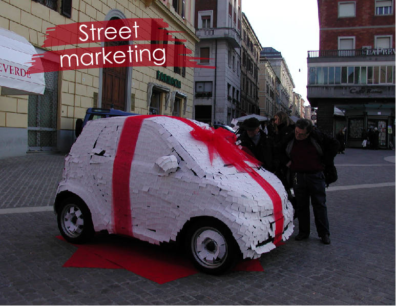 street marketing en madrid vigo