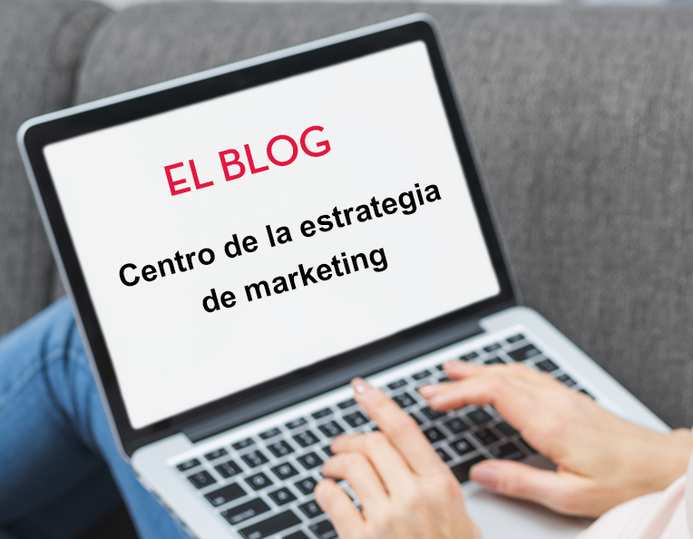 blog centro de la estrategia de marketing